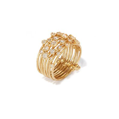 Hidden Reef 18ct Gold Diamond Ring