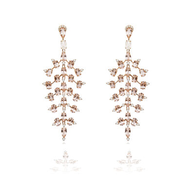 Sutra Morganite Earrings