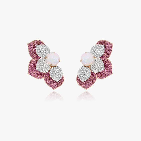 Sutra Sapphire & Diamond Earrings | Annoushka jewelley