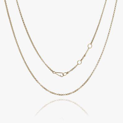 14ct Gold Fine Belcher Chain