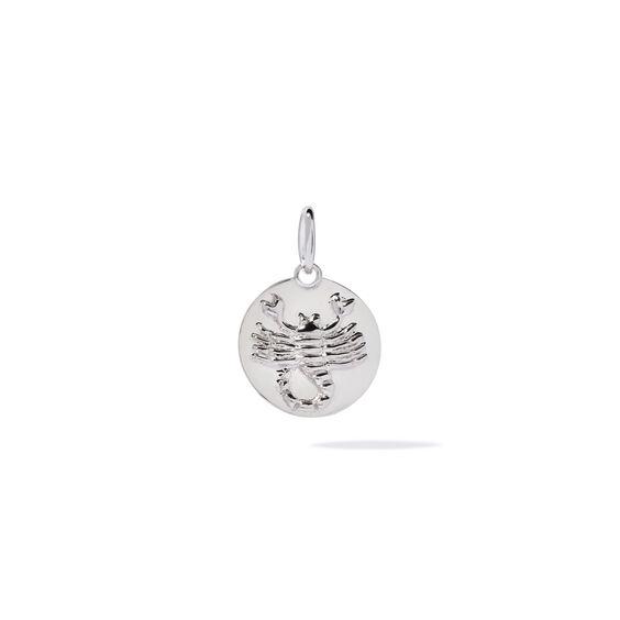 Mythology 18ct White Gold Scorpio Pendant   Annoushka jewelley