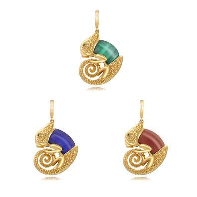 18ct Gold Interchangeable Chameleon Charm