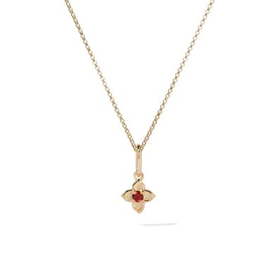 Tokens 14ct Gold Garnet Necklace