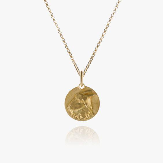 Mythology 18ct Gold Capricorn Necklace