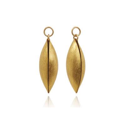18ct Gold Seed Earring Drops