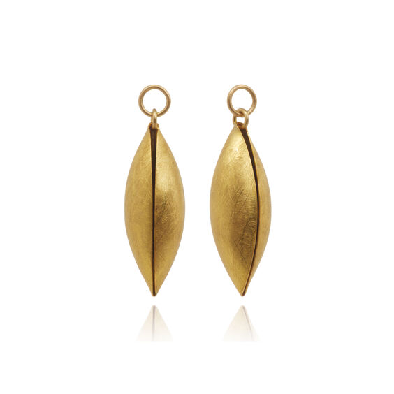 18ct Gold Seed Earring Drops | Annoushka jewelley