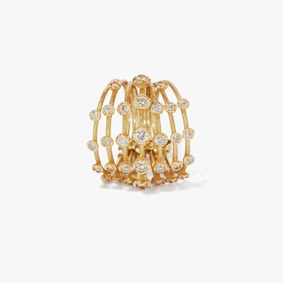 Hidden Reef 18ct Gold Diamond Ring | Annoushka jewelley