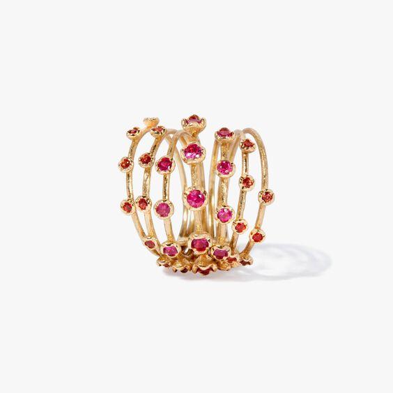 Hidden Reef 18ct Gold Sapphire Ring | Annoushka jewelley