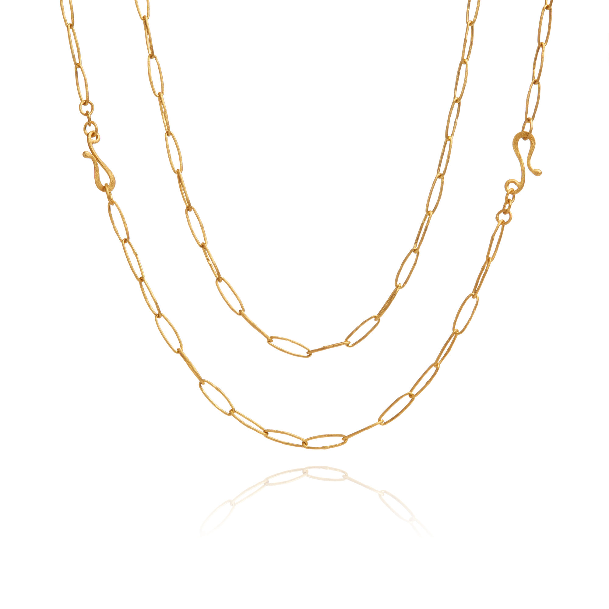 18ct Gold Organza Charm Necklace — Annoushka US
