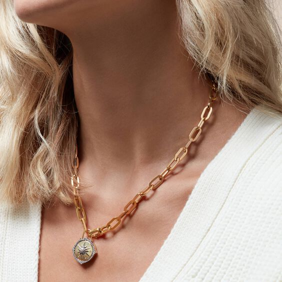 18ct Gold Cable Chain   Annoushka jewelley