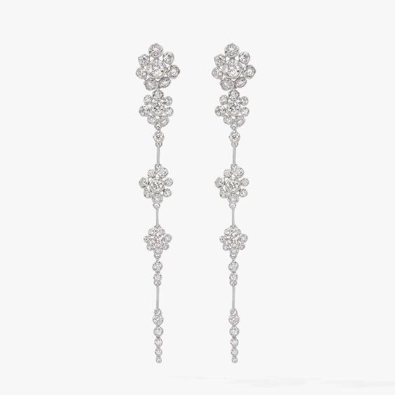 Marguerite 18ct White Gold Diamond Earrings