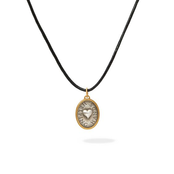 14ct Gold Helping Hands Pendant | Annoushka jewelley