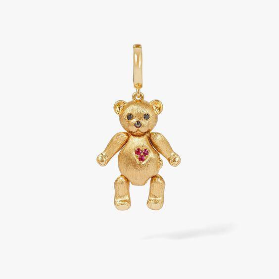 Mythology 18ct Gold Teddy Bear Locket Charm