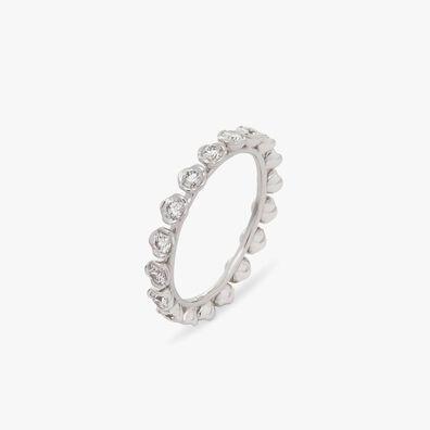 Marguerite 18ct White Gold Diamond Eternity Ring