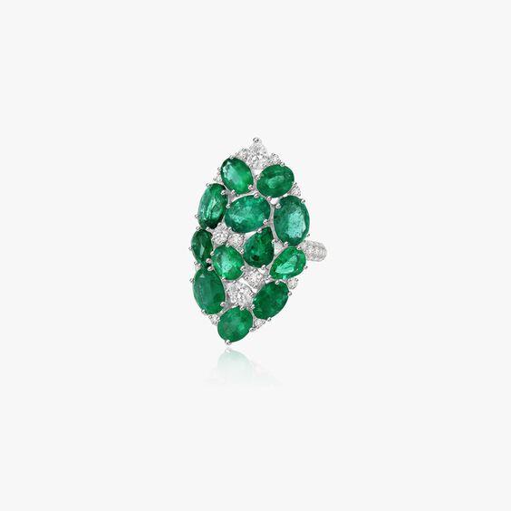 Sutra Emerald & Diamond Ring | Annoushka jewelley