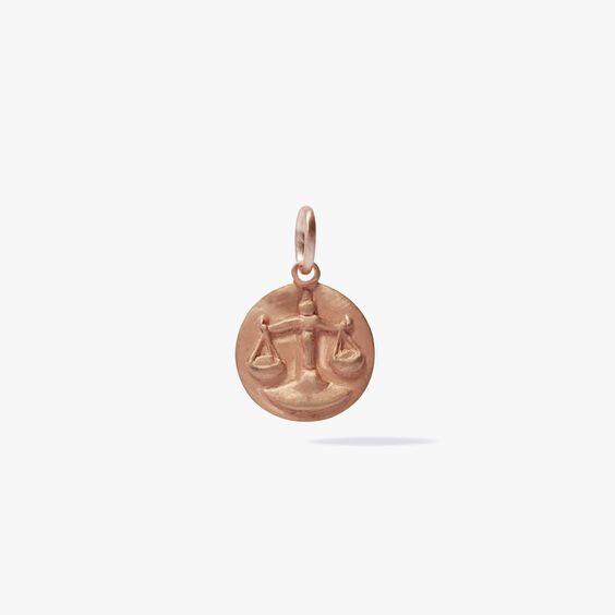 Mythology 18ct Rose Gold Libra Pendant | Annoushka jewelley
