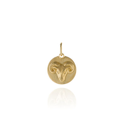 Mythology 18ct Gold Aries Pendant