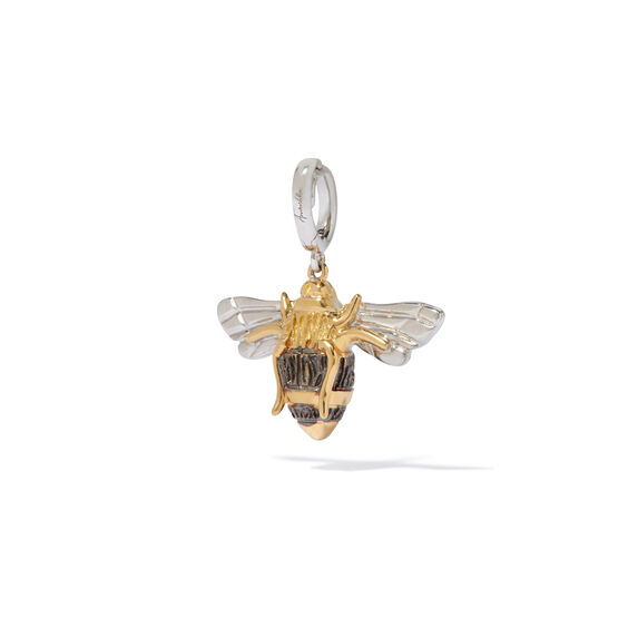 Mythology 18ct Gold Diamond Bumble Bee Pendant | Annoushka jewelley