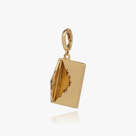 """18ct Gold """"Love Letter"""" Charm 