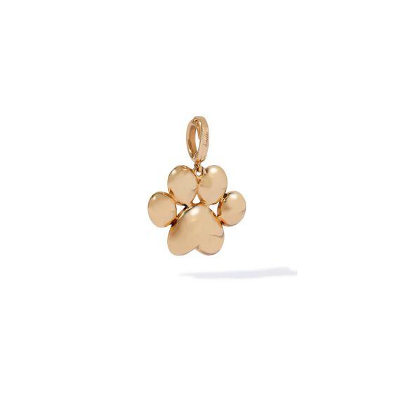 18ct Gold Diamond Paw Print Charm | Annoushka jewelley