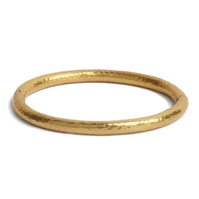 18ct Gold Organza Bangle