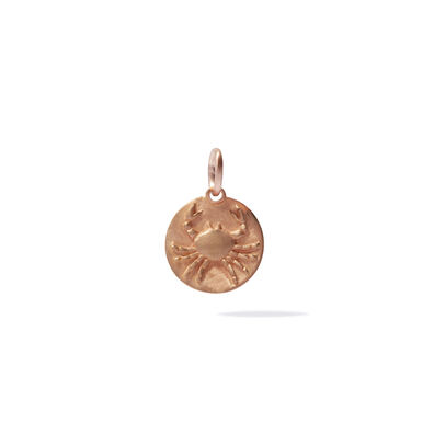 Mythology 18ct Rose Gold Cancer Pendant