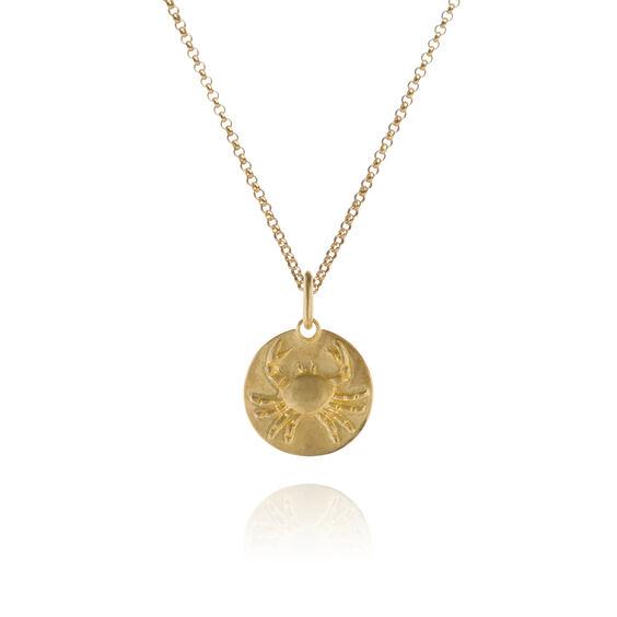 Mythology 18ct Gold Cancer Necklace