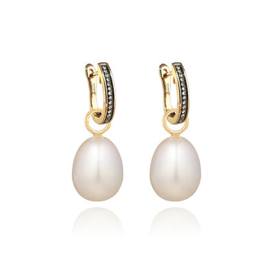 18ct Gold Annoushka Favourites Pearl Earrings