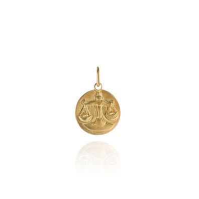 Mythology 18ct Gold Libra Pendant