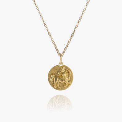 Mythology 18ct Gold Sagittarius Necklace