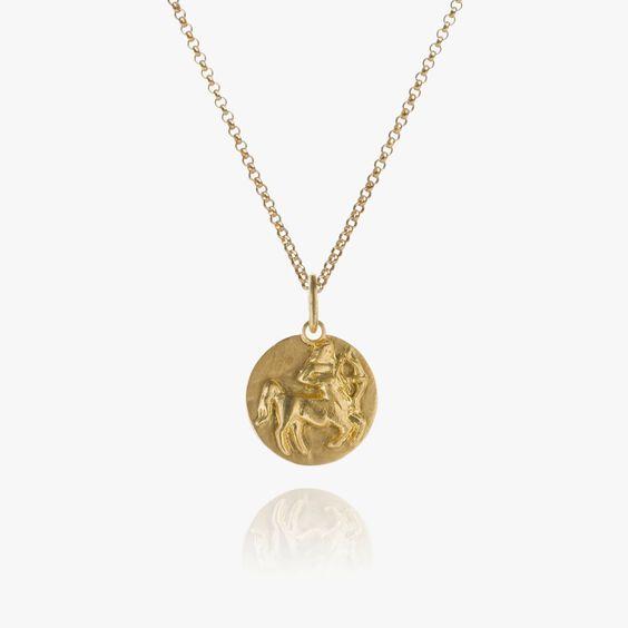 Mythology 18ct Gold Sagittarius Necklace | Annoushka jewelley