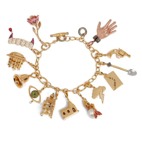 Annoushka X The Vampire's Wife Charm Bracelet | Annoushka jewelley