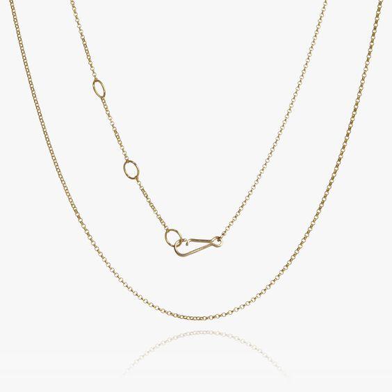 14ct Classic Short Chain | Annoushka jewelley