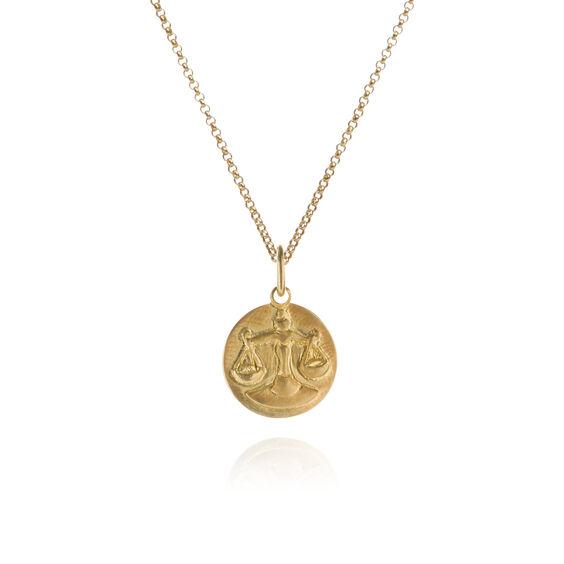 Mythology 18ct Gold Libra Necklace   Annoushka jewelley