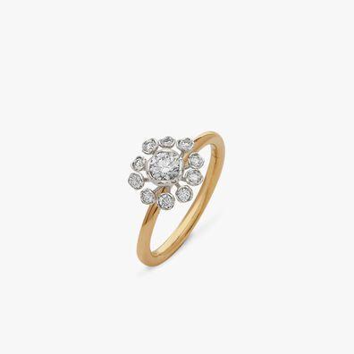 Marguerite 18ct Gold 0.25ct Diamond Ring