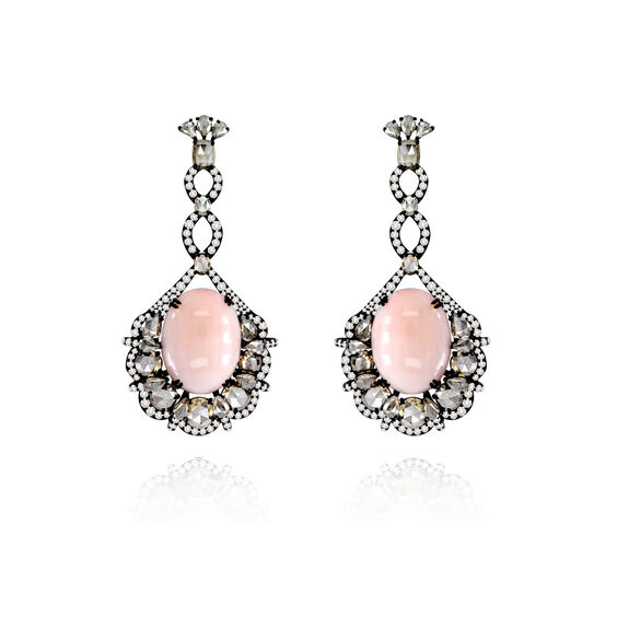 Sutra Coral & Diamond Earrings | Annoushka jewelley