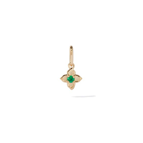 Tokens 14ct Gold Emerald Pendant | Annoushka jewelley