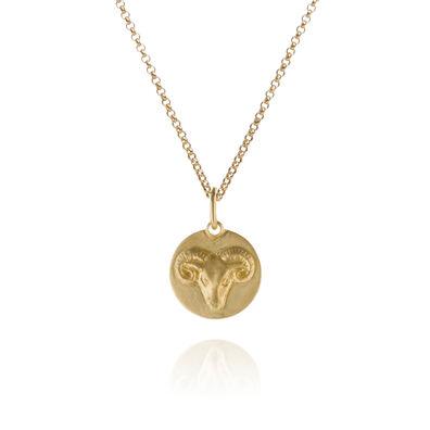 Mythology 18ct Gold Aries Necklace