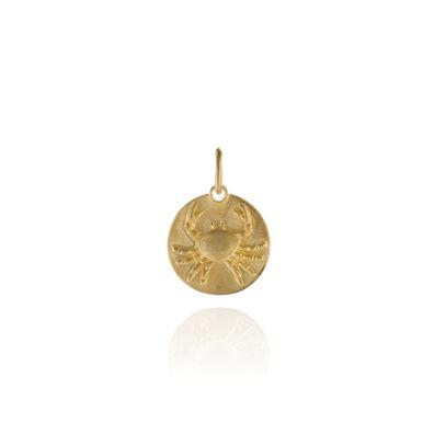 Mythology 18ct Gold Cancer Pendant