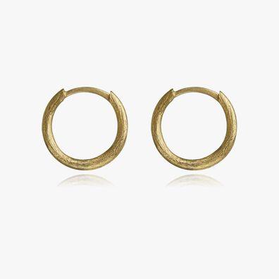 18ct Gold Small Hoop Earrings