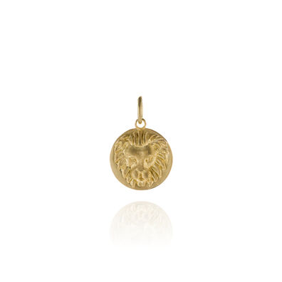 Mythology 18ct Gold Leo Pendant