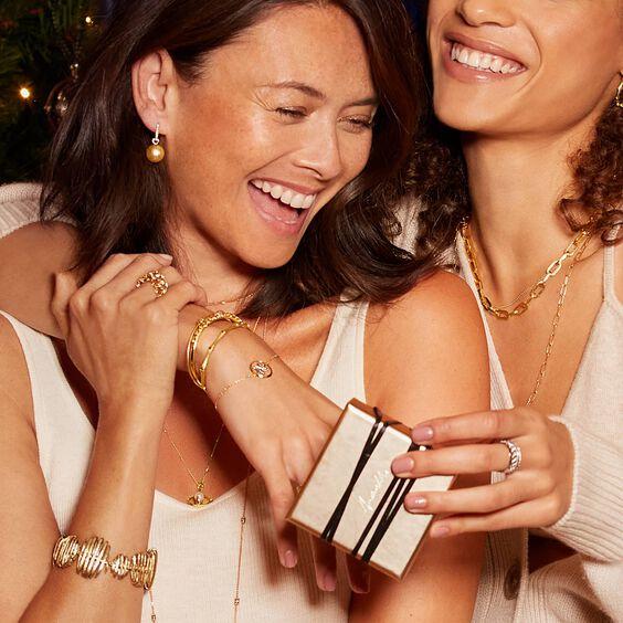 Lattice 18ct Gold Diamond Net Ring | Annoushka jewelley