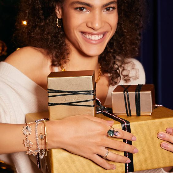 18ct Gold Diamond Initial N Bracelet | Annoushka jewelley