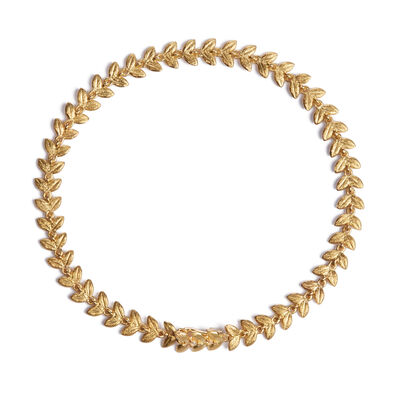 18ct Gold & Diamond Vine Bracelet
