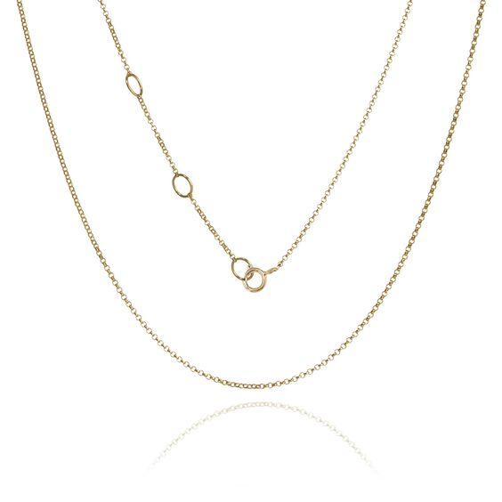 14ct Gold Fine Belcher Chain   Annoushka jewelley
