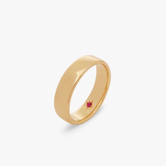18ct Gold 5mm Wedding Band