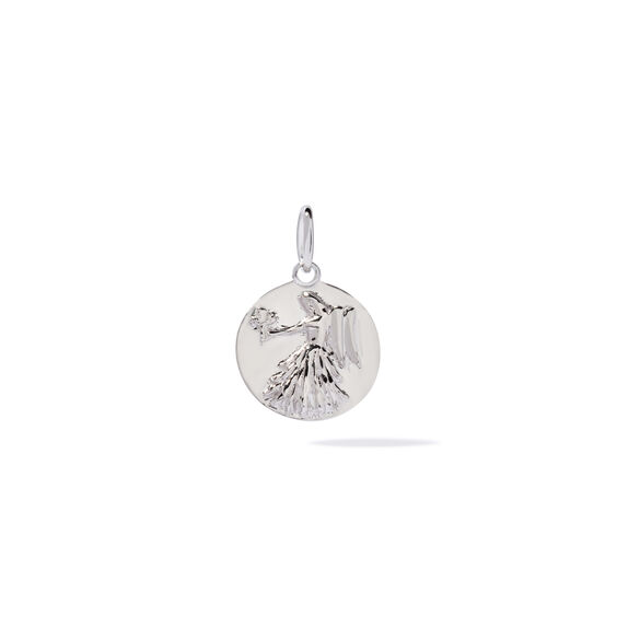Mythology 18ct White Gold Virgo Pendant | Annoushka jewelley