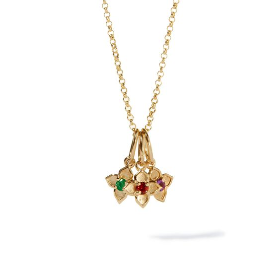 Tokens 14ct Gold Birthstone Necklace | Annoushka jewelley
