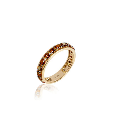 Dusty Diamonds 18ct Gold Eternity Ring