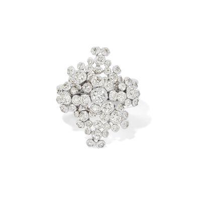 Marguerite 18ct White Gold Diamond Cocktail Ring